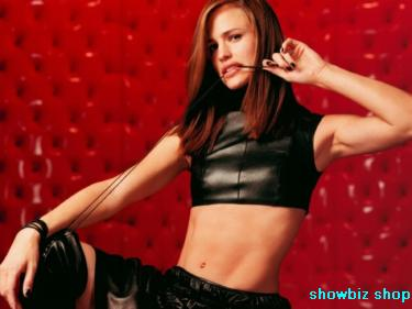 Jennifer Garner Poster #01 11x17 Master Print Sexy Leather