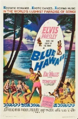 Blue Hawaii Mini Poster