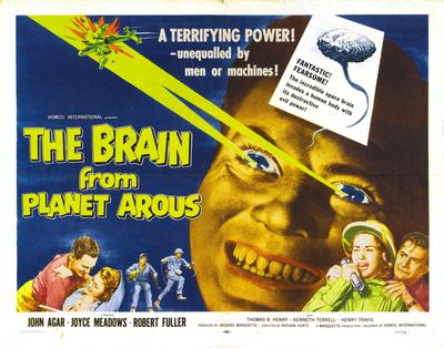 Brain From Planet Arous Movie Mouse Pad Mousepad Mouse Mat  height=200
