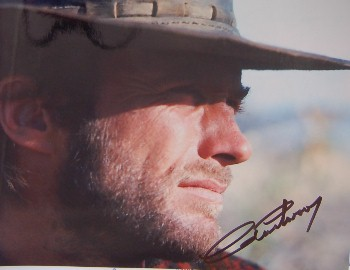 Clint Eastwood Autograph Signed 8x10 Photo 