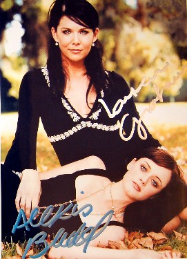 GILMORE GIRLS CAST Autograph Signed Photo 8x10 COA