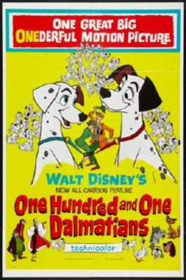 101 Dalmations Poster