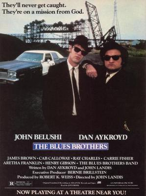 Blues Brothers, The Movie Poster