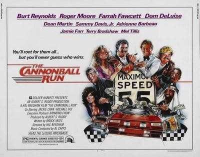 Cannonball Run Movie Poster