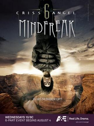 Criss Angel Poster Mindfreak