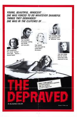 Depraved The Movie Poster Master Print