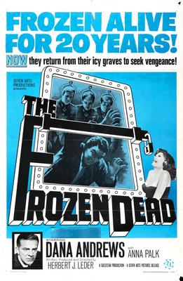 Frozen Dead The Movie Poster Master Print