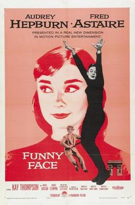 Funny Face Audrey Hepburn Movie Poster