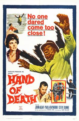 Hand Of Death Movie Poster Master Print