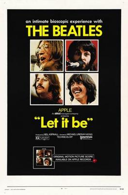 Let It Be Movie Poster Master Print