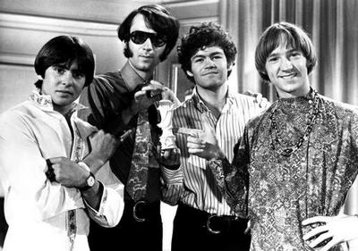 Monkees Great Bw Shot 4 Poster Master Print