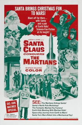 Santa Claus Conquers The Martians Movie Poster Master Print