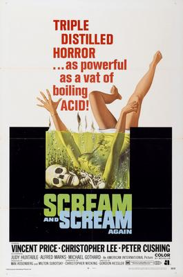Scream And Scream again Movie Poster Master Print