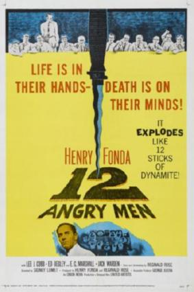 12 angry men movie poster #01