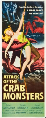 Attack Of The Crab Monsters Posters inserts
