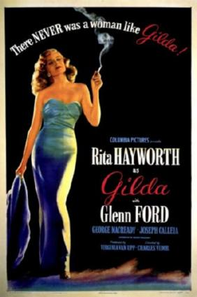 gilda movie poster #01