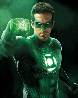 Green Lantern Mouse Pad Mousepad Mouse Mat height=200