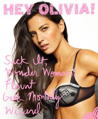 Olivia Munn Poster