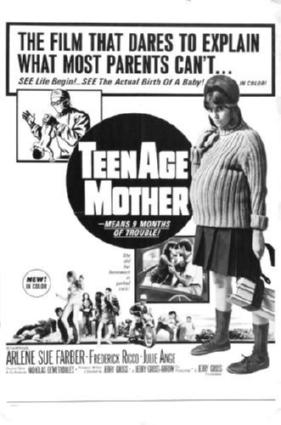 teenage mother movie poster #01