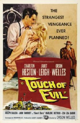 touch of evil movie poster #01