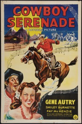 Cowboy Serenade Movie Poster