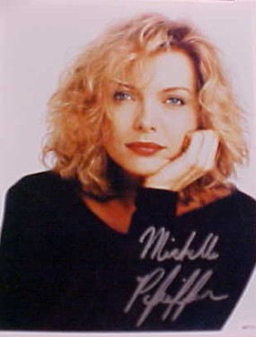 MICHELLE PFEIFFER Autograph Signed Photo 8x10 COA